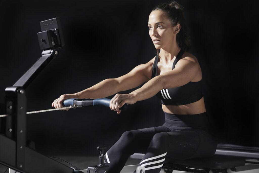 Woman on a Rowformer